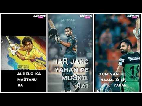Dunia Ke Har Sher | IPL 2019 Whatsapp Status Full Screen || New Full Screen Whatsapp Status 2019 || #IPLStatus