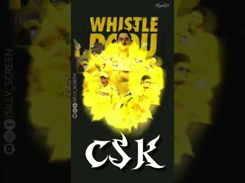 CSK Gangs | Chennai super Kings 2019 | full screen status | Swag Video Status