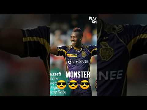Russal-special-KKR feat.KGF 😎😎 full screen WhatsApp status|VIVO IPL 2019 | Swag Video Status