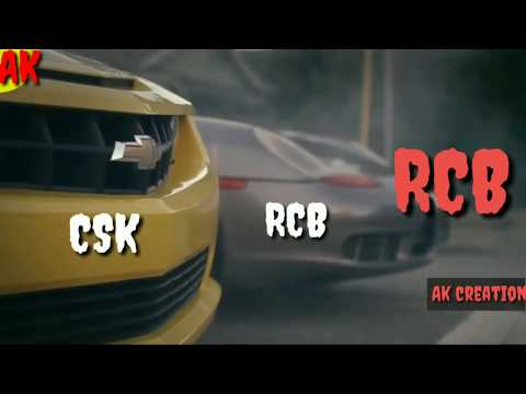 CSK 2019 WhatsApp status / RCB WhatsApp status 2019 / CSK vs RCB WhatsApp status | Car Res | Swag Video Status