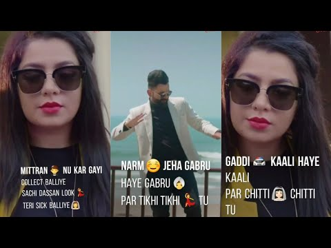 Mithi Mithi | Amrit Maan | Fullscreen Status | Jasmine Sandlas | WhatsApp Lyrics Status | Swag Video Status