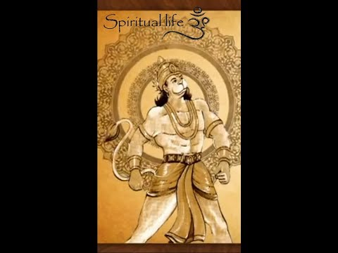 Hanumanji Whatsapp Status Video | full mobile screen | sloke 02 | God Whatsapp Status | Swag Video Status