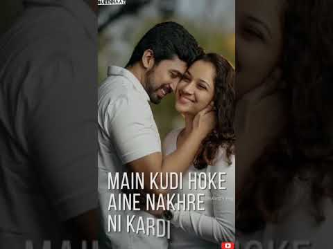 Karda Pasand Kyun Nii Bolta | punjabi love song fullscreen whatsappstatus  | Swag Video Status
