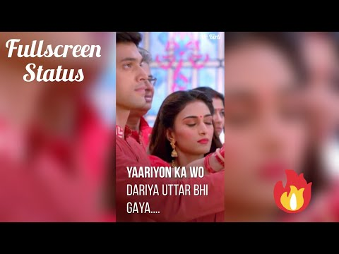 Ek Mai Ek Wo Aur Shaame Kahin | 👫Romantic Full Screen Status 💟 !! Anurag And Prerna Latest Full Screen WhatsApp Status Video 💕 Swag Video Status