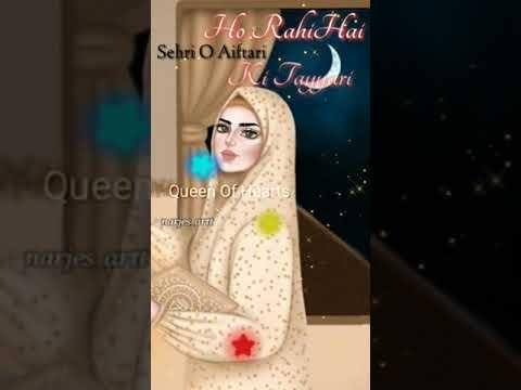 Aasmano Par   Ramzan Mubarak Status 2019 // Full Screen Status Special For Ramzan Mubarak 😘😘 Swag Video Status