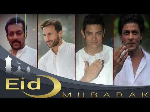 Eid Mubarak Bollywood Actor WhatsApp status Shahrukh Khan Salman Khan Aamir Khan Saif Ali Khan | Swag Video Status