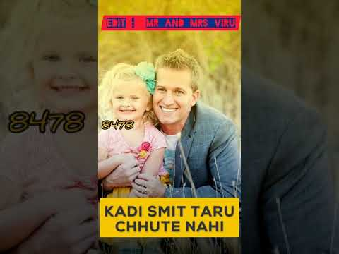 Pa Pa Pagli | Chal Jeevi Laiye | Fullscreen WhatsApp Status | Father's Day Special | Swag Video Status