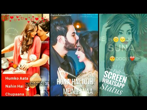 Full Scrern Whatsapp Status | Chand Sifarish Jo Karta Hamari | Full Screen Romantic Whatsapp Status | Swag Video Status