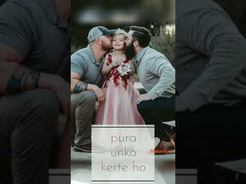 Papa - Father's Day Special Song full screen lyrics status 2019 | Swag Video Status