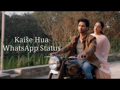 Kabir Singh : Kaise Hua Song | Shahid K, Kiara A, Sandeep V | Vishal Mishra, Manoj Muntashir|Swag Video Status