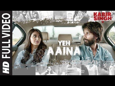 Yeh Aaina Whatsapp Status| Kabir Singh | Shahid Kapoor, Kiara Advani Nikita D| Amaal Mallik Feat.Shreya|Swag Video Status