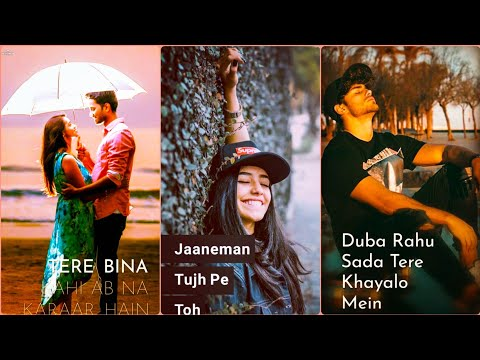 Duba rahu sada tere khayalo me Unplugged cover Song | Full Screen WhatsApp Status | New WhatsApp Status 2019