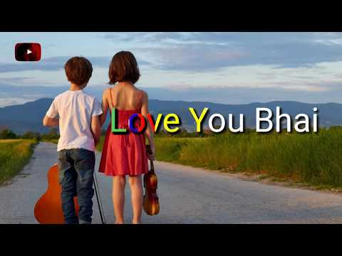 Happy birthday Brother hindi whatsapp status Video | Bhai Status | Brother Status|Swag Video Status