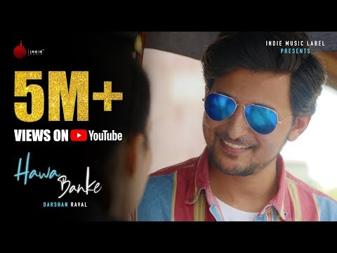 Darshan Raval - Hawa Banke Whatsapp Status Video| Official Music Video | Nirmaan |Swag Video Status