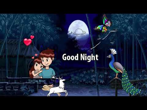 Peacoke Animation Good Night Latest Whatsapp Status Video 2019 | Swag Video Status