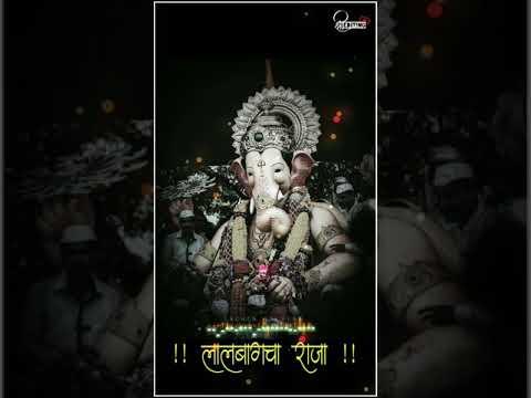 Ganpati Bappa Whatsapp Status|Palkhi Nigali Rajyachi WhatsApp Status|#LalabagchaRaja #2019 | Swag Video Status