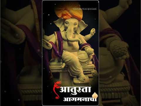 Aaturta 2019 | Ganpati Bappa Morya | Fullscreen Whatsapp Status | Swag Video Status