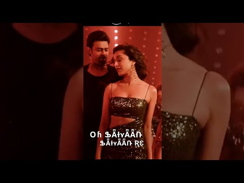 😍Psycho Saiyaan Full Screen Whatsapp Status😍 | Shaaho Status | Prabhas And Shraddha Kapoor | Swag Video Status