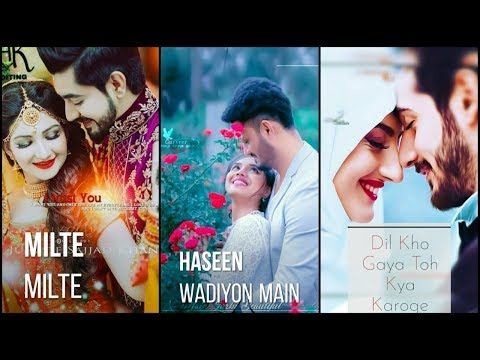 Milte Milte Haseen Wadiyon Mein || Full Screen Whatsapp Status || Swag Video Status