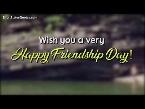 Friendship Day Status | Friendship Day Whatsapp Video | Swag Video Status