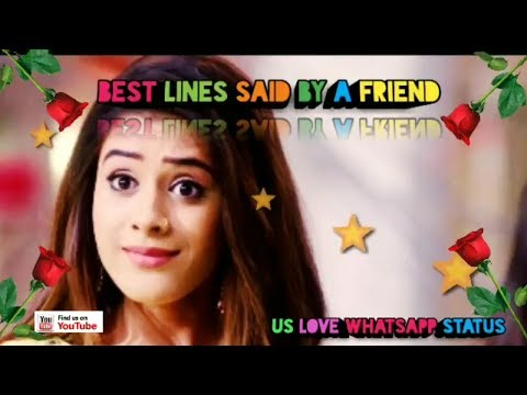 Dear best friend status | Friendship day special whatsapp status video | Swag Video Status