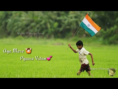 Ye Mere Pyare vatan | Independence Day whatsapp status | Happy Independence Day Status |15 August Special Whatsapp status| Swag Video Status