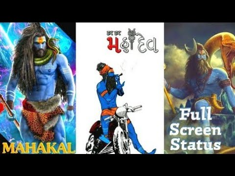 Mahakal full screen WhatsApp status video | Swag Video Status
