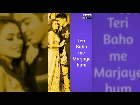 Tujhe Dekha to ye jana sanam | Romantic New full screen status |Swag Video Status