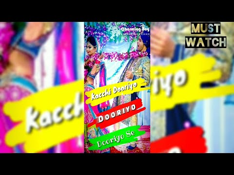Kacchi Dooriyo Full Screen Status | Male Version Status | Swag Video Status
