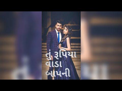 Tari vato baka Lakh ni   gujrati full screen status (jiganesh kaviraj) New Gujarati WhatsApp status video, Gujarati status   Swag Video Status