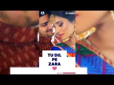 Tujhe Mere Rab ne Milaya | Romantic full Screen status | Swag Video Status