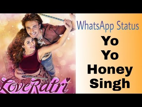 Rangtari video song WhatsApp status/ Yo Yo honey Singh|| Rangtari Song :loveratri | Swag Video Status