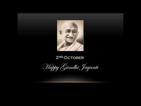 Whatsapp Status Gandhi Jayanti 30 Sec Video | 2nd October Whatsapp Status| Happy Gandhi Jayanti | Swag Video Status