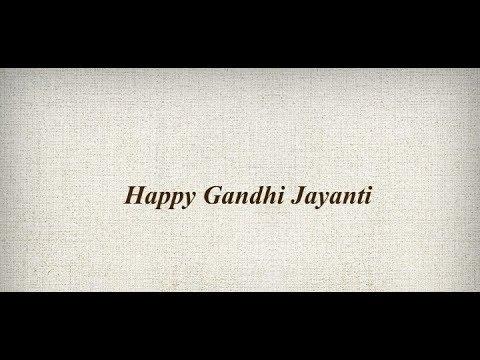 Happy Gandhi jayanti 2018 Status | WhatsApp status video | Swag Video Status