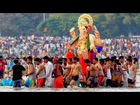 Hi Samindrachi lat deva pahle tumchi vat | Ganpati Visarjan Status 2018 | Ganpati Status Visarjan Song | Swag Video Status